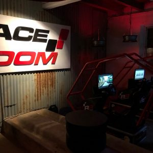 Race Room racing vid Rappens lada